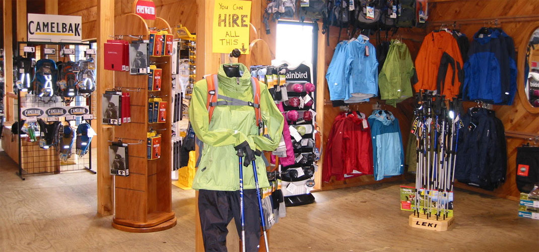 The Alpine Centre - Hiking gear hire Ruapehu